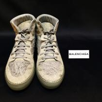 【 BALENCIAGA 】leather high cut sneakers