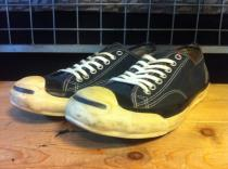 converse JACK PURCELL HS V (ネイビー) USED