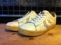 converse PRO LEATHER OX (ホワイト/グレー) USED