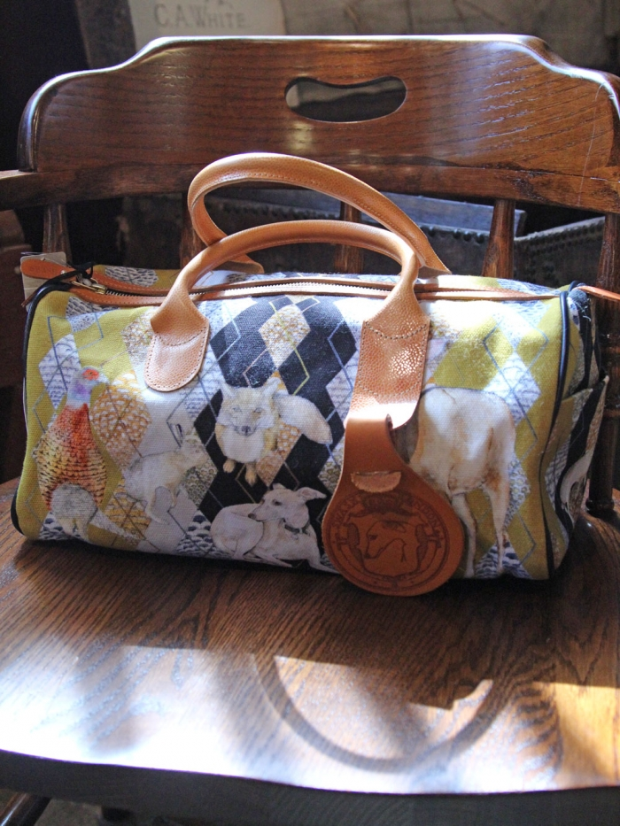 Swash - Print Canvas x Leather Bag (New)-  ¥38950(税込)写真