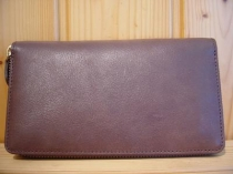 ZIPPER WALLET(ew-103/brn)