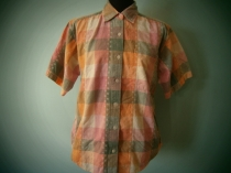 Cotton Check Shirt Size S ¥3980-