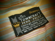 1970's TOWNCRAFT Shirt Size M ¥3980-