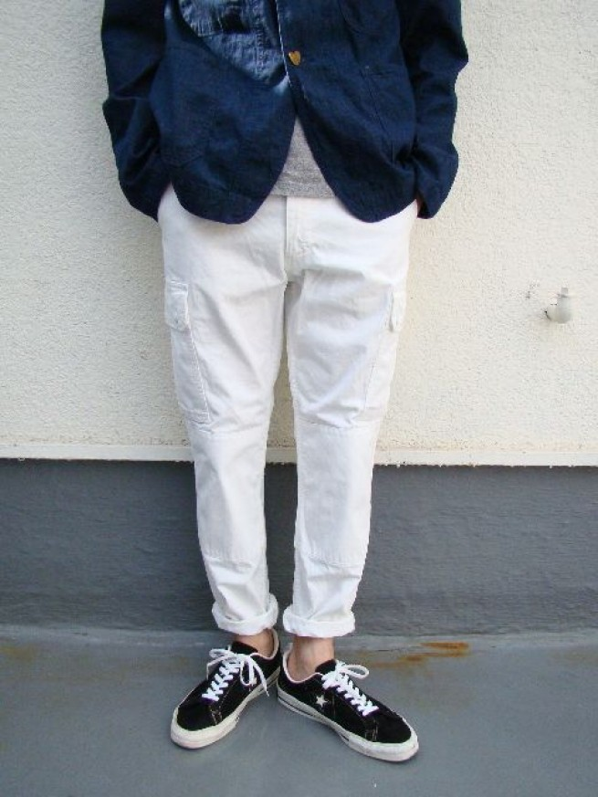 "|【Ordinary fits オーディナリーフィッツ】F2 CARGO ""white""写真"
