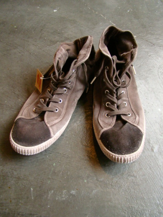 "|【O'Kyti オキティ】OVER DIE SNEAKER ""brown""写真"