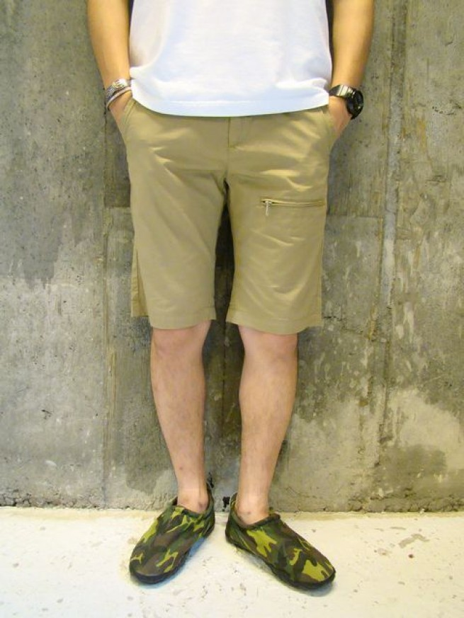 "|【N.O.UN ナウン】ZIP TROUSERS PLANE ""khaki"" 写真"