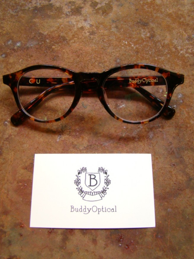 "|【Buddy optical バディーオプティカル】 COLUMBIA UNIVERSITY ""brown""写真"