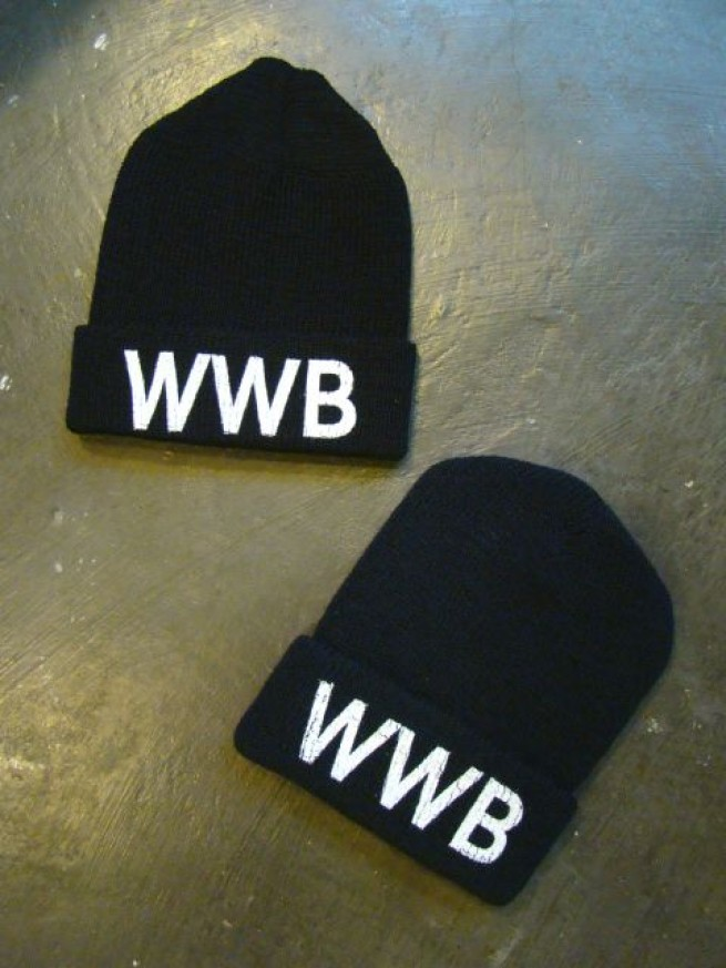 "|【THE DAY ザ デイ】 WATCH CAP ""WWB""写真"
