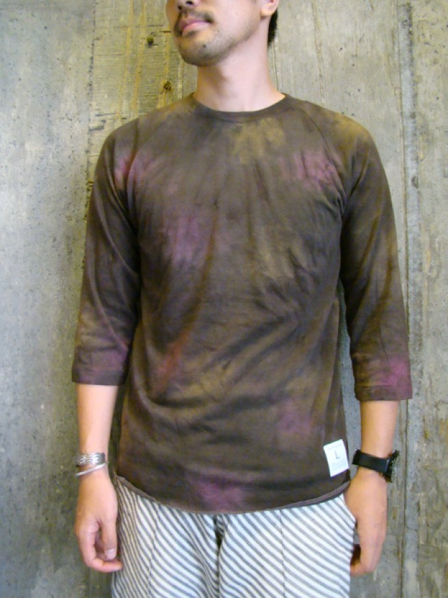 "|【HIGH TIDE ハイタイド】EAGLET 3/4 Tee ""brown""写真"