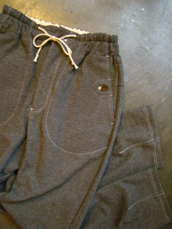 "|【Curly カーリー】CLOUDY EZ TROUSERS ""black""写真"