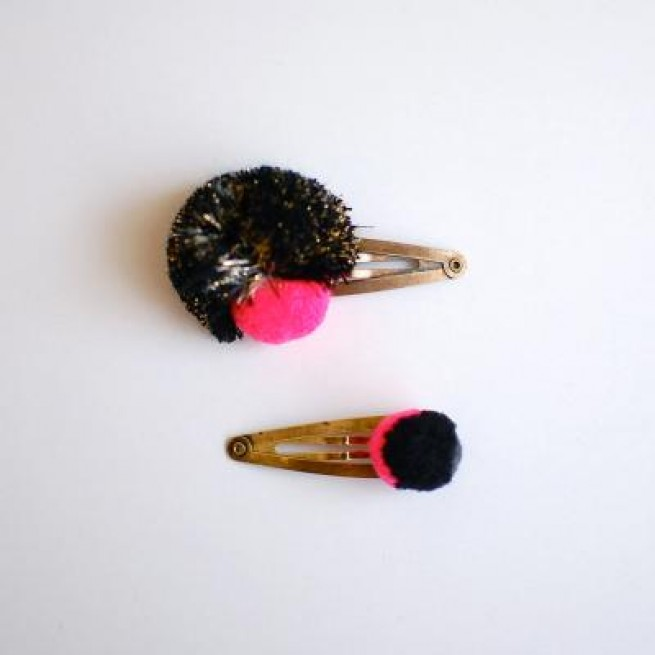 【April Showers】Zaza Hairpin 2 / BLACK写真