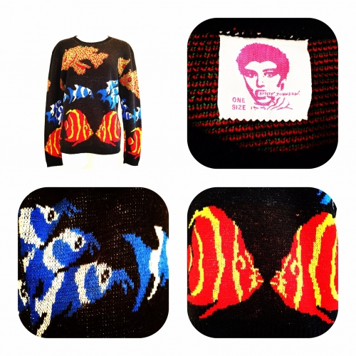Women's 『BETSEY JOHNSON』 Vintage Jacquard knit.写真