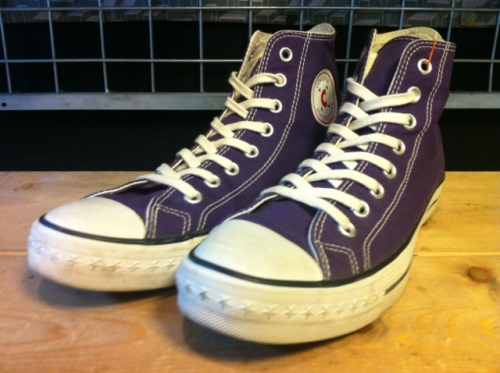 converse ATHLETIC-C HI (パープル) USED写真