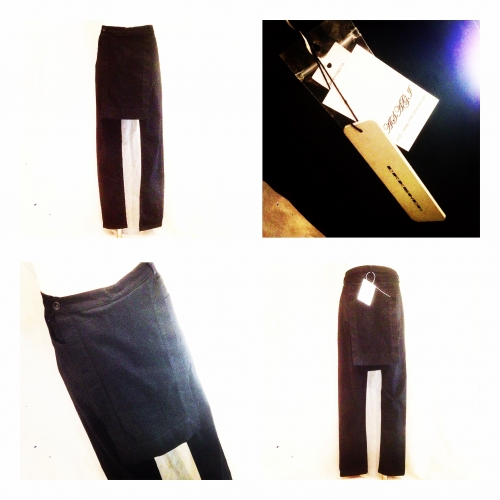 Men's 『DRK SHDW』 Savage Detroit pants Black Mineral写真