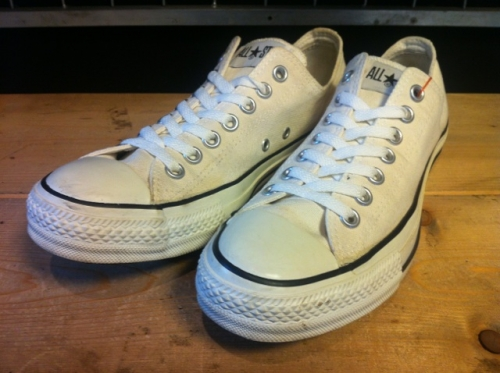 comverse × A.P.C ALL STAR OX (ホワイト) USED写真