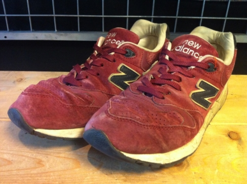 new balance ML999BNV (バーガンディー) USED写真