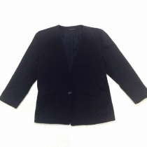 ITEM《no-collar jacket》