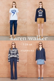 KAREN WALKER 15AW COLLECTION COMING SOON♡