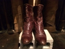EXSOTIC LEATHER BOOTS