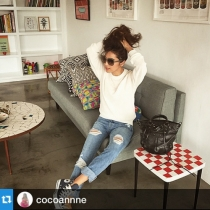 "#NAISSANCE ""COTTON LINEN KNIT"" #Repost @cocoannne with..."