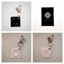 【 re:introduction/ SKIN condome key holder 】