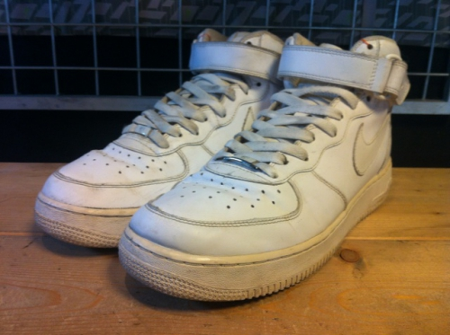 NIKE AIR FORCE Ⅰ MID '07 (ホワイト) USED写真