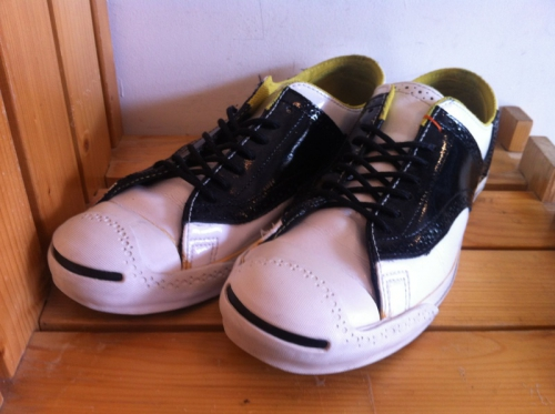 converse JACK PURCELL S MDLN (ホワイト/ブラック) USED写真