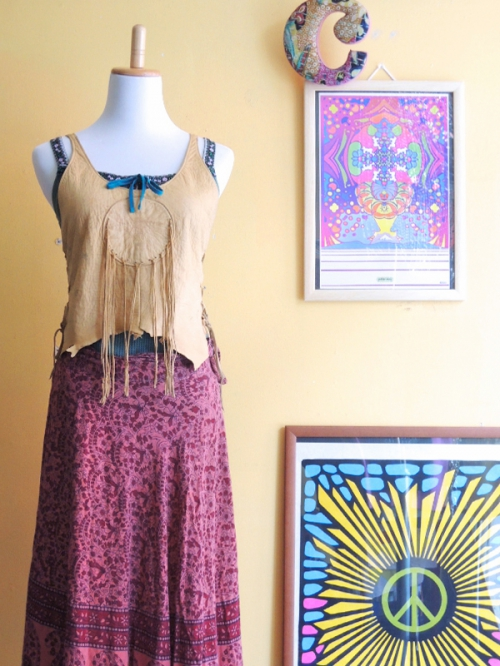 camisole & wrap skirt  70's cordinate snap vol.1写真