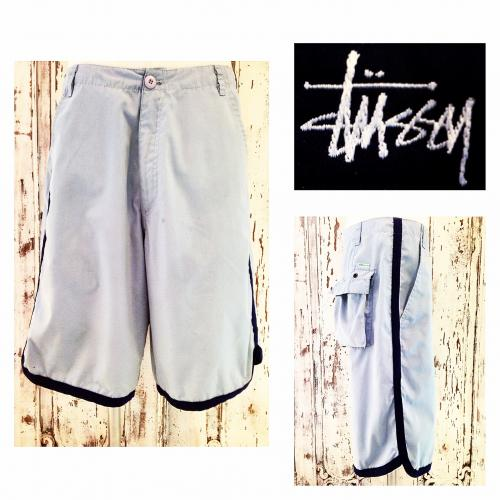 Men's 『STUSSY』 Piping design is shorts.写真
