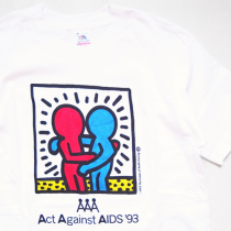Kieth Haring Act Against Aids'93 T-Shirts