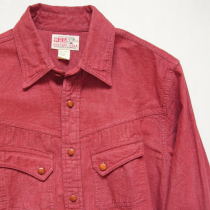 Red Denim Western Shirts