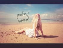 good-bye summer!!