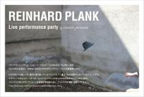 REINHARD PLANK Live performance party