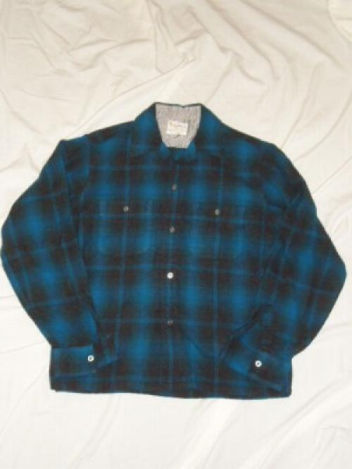 1960~70's Wool Check Shirt写真