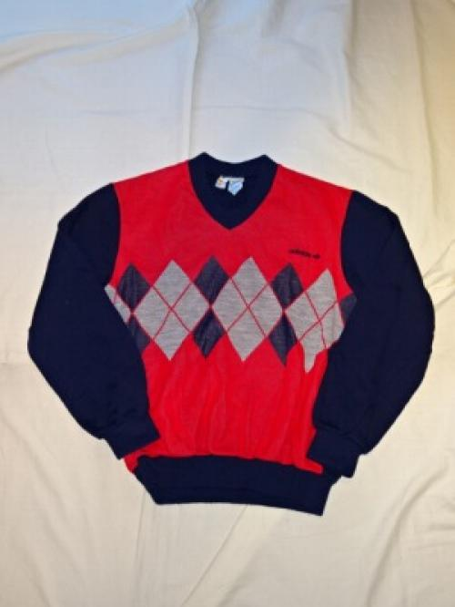 "1970's V-Neck Sweater ""adidas""写真"
