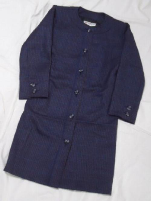 "1960's No-Collar Coat ""YVES SAINT LAURENT""写真"