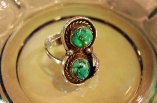 USA Native American hand-craft ring写真