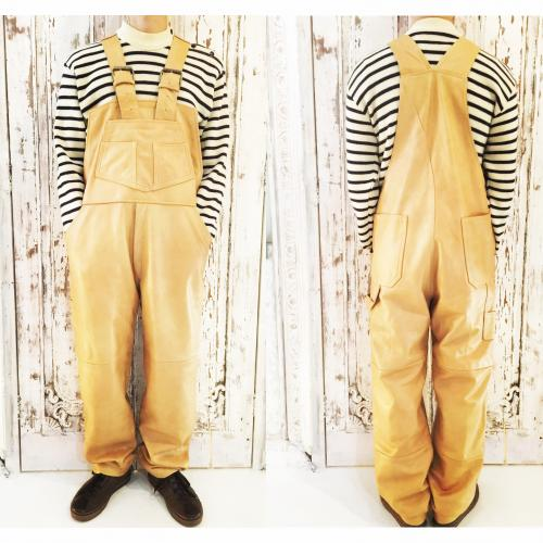 Men's Leather overall.写真