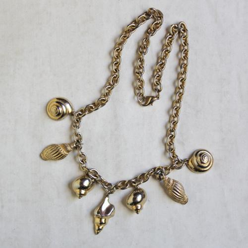1980s Seven Shells Necklace写真