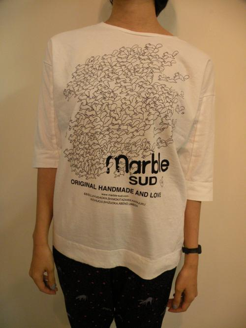 marble SUD LOGO LOTS 3/4スリーブ カットソー リス写真