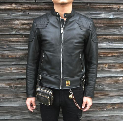 GOLDTOP Single Padded Leather Jacket写真