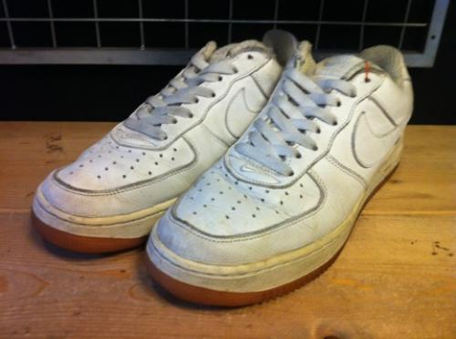 NIKE AIR FORCE Ⅰ LOW (ホワイト) USED写真