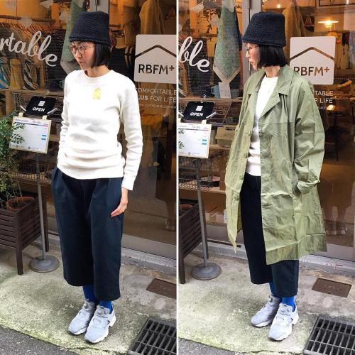 US ARMY thermal / French ARMY RAIN COAT / RainbowFam : タックパンツ写真