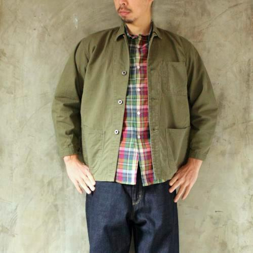Ordinary fits UTILITY JACKET  mens写真