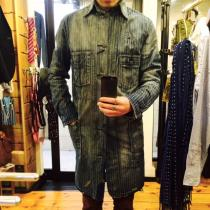 RRL / Wabash Stripe Trench Coat