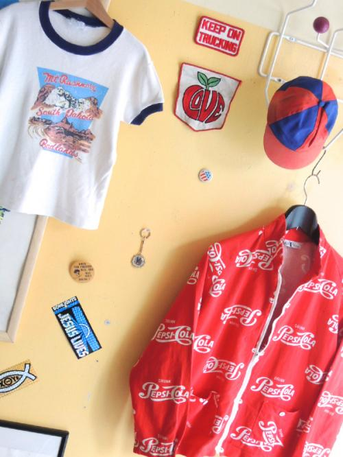 1960's PEPSI COLA cotton Jacket by Car Trends snap.02写真