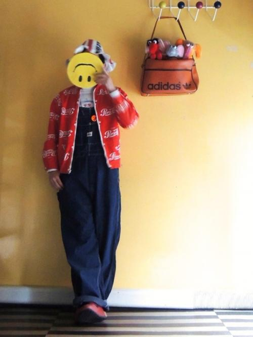 Styling a smiley mask 02,20写真