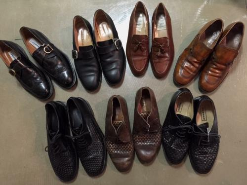 VINTAGE LEATHER SHOES  写真