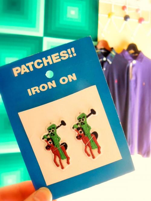 DEADSTOCK ! 1985 GUMBY patch写真