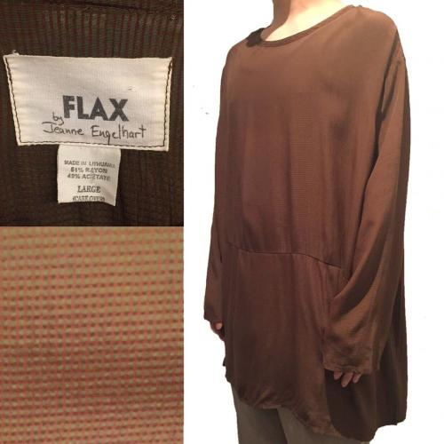 "Men's ""FLAX"" design fabric cutsew.写真"